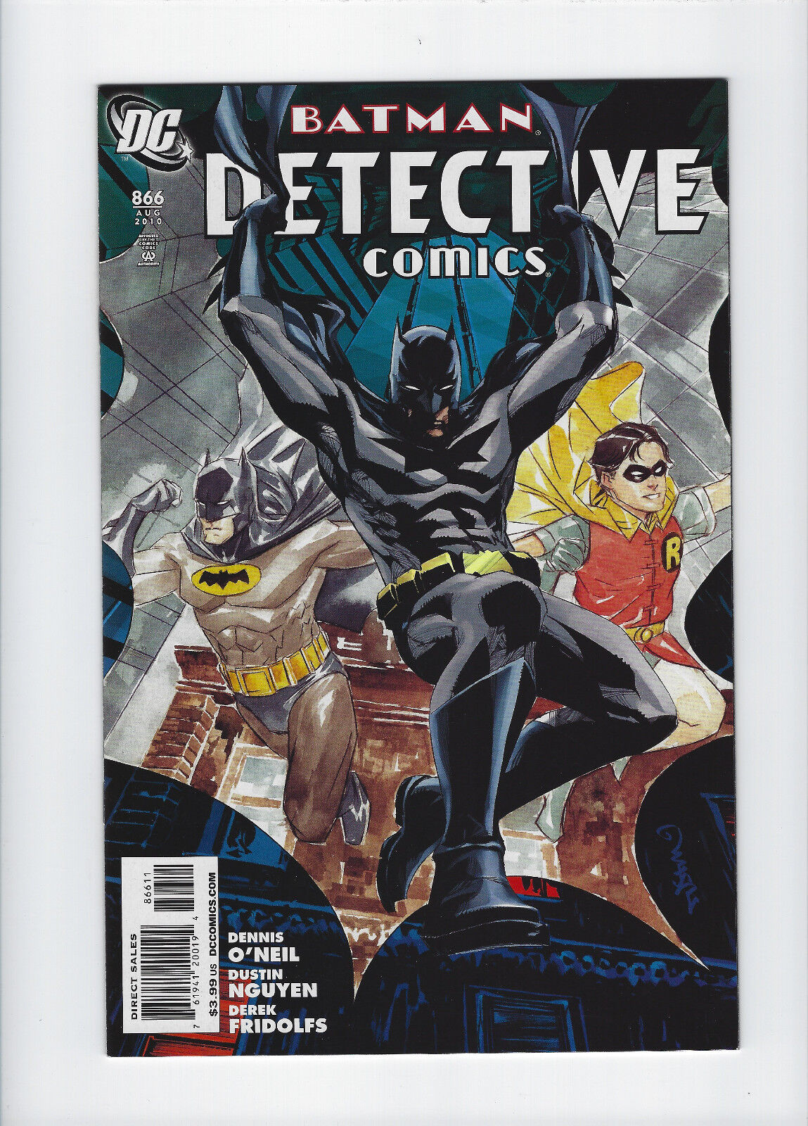 UPC 761941100104 product image for Detective Comics 866 | Near Mint- (9.2) | upcitemdb.com