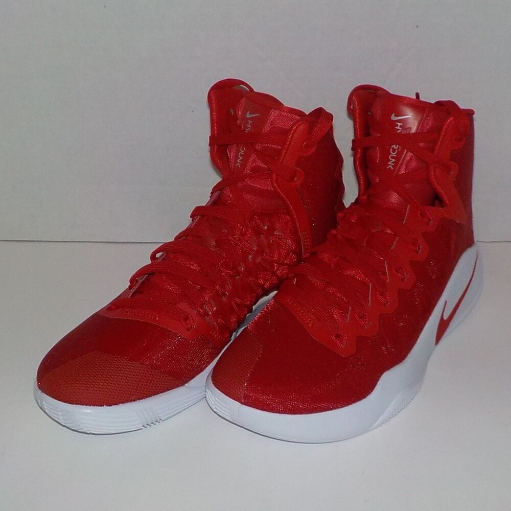 new concept 11798 51092 Details about Nike HYPERDUNK 2016 TB High Basketball Shoes RED WHITE 844391  662 Woman Size 9.5