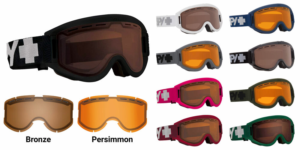 50d265f8bbd0 Details about Spy Optic Getaway Snow Goggles