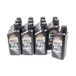 Champion 4401H Modern Muscle 5W30 Full-Synthetic Engine Motor Oil - 12 Quarts
