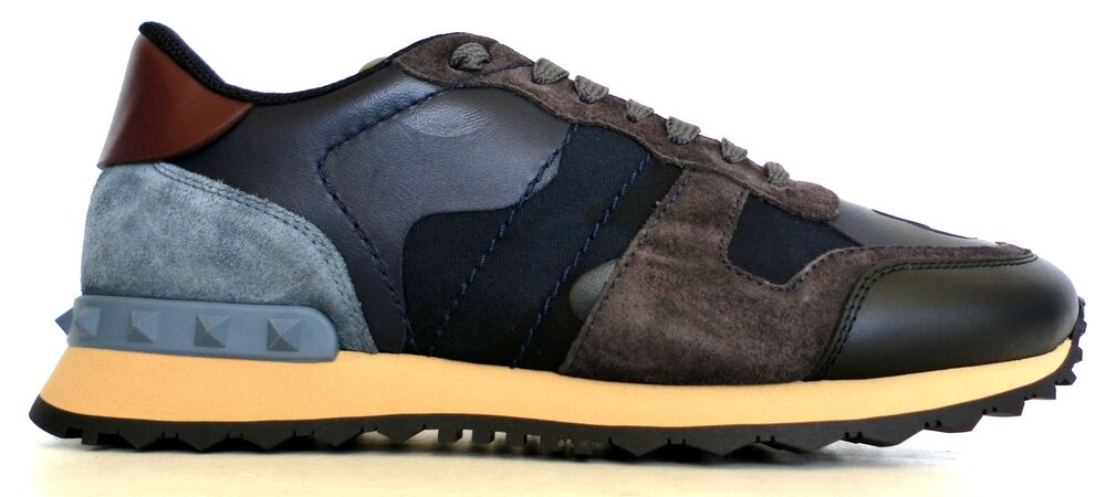 new product cd99c eb0c9 Details about VALENTINO GARAVANI men s sneaker shoes NY2S0723 M14  ROCKRUNNER CAMOUFLAGE BLU