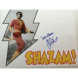 Kyпить 1974-1975 Jackson Bostwick Shazam Signed LE 16x20 Color Photo на еВаy.соm