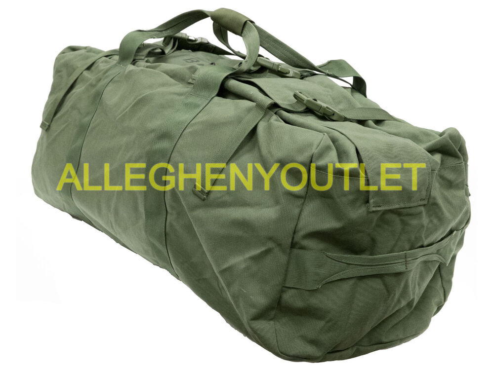 Details about US Military IMPROVED DUFFEL BAG Tactical Foldable Deployment  Duffle Luggage VGC dcd12acd88256