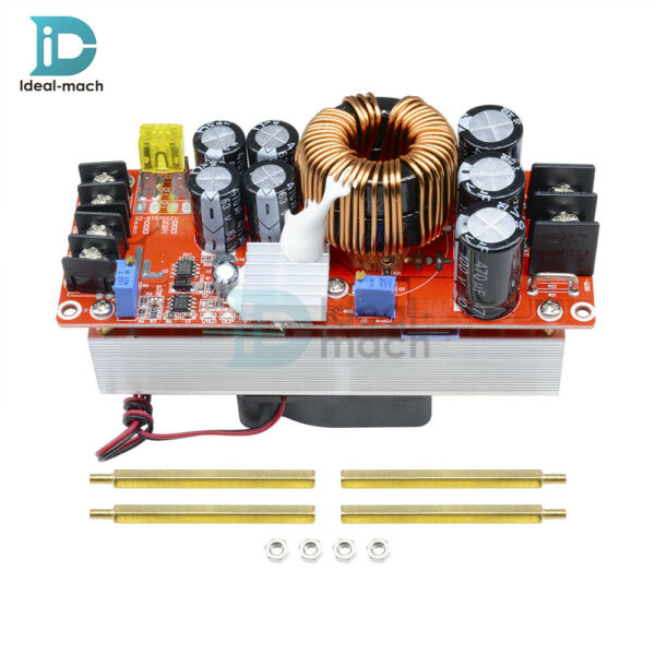 DC-DC Boost Converter Step Up 1500W 30A Power Supply Module Constant Current