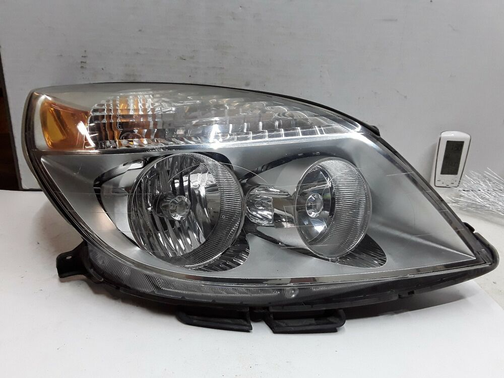 Details About 07 08 09 Saturn Aura Right Penger Side Headlight Embly Oem