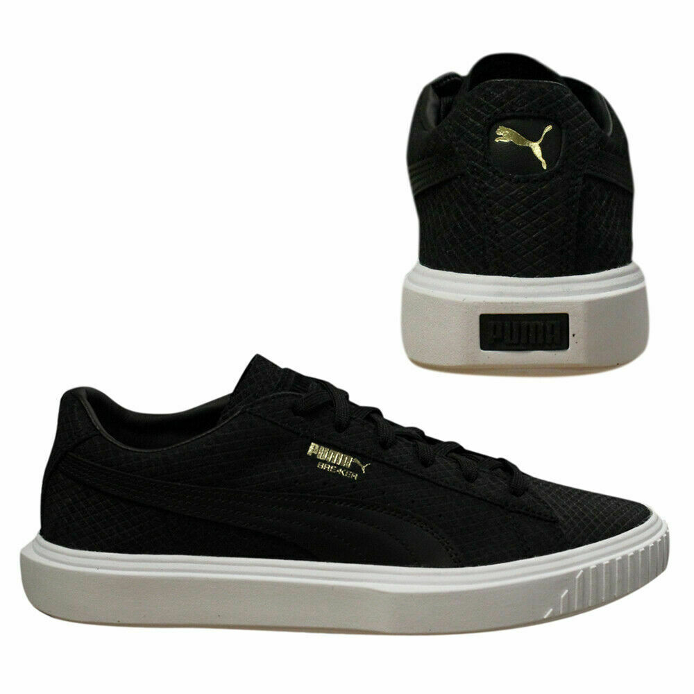 new product 8f8b2 2f41b Puma Breaker Suede Low Top Mens Leather Trainers