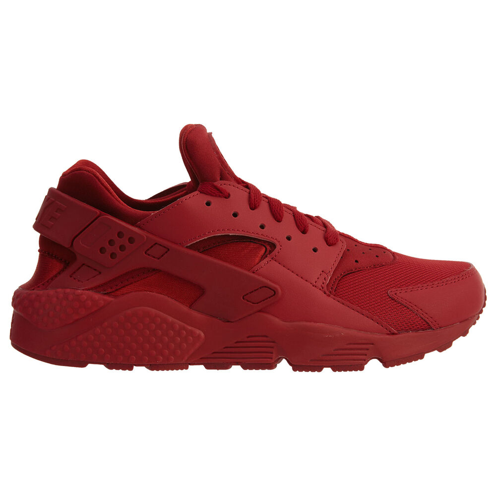 473bc036d6a0 Nike Air Huarache Mens 318429-660 Varsity Triple Red Running Shoes Size 12  886912251309