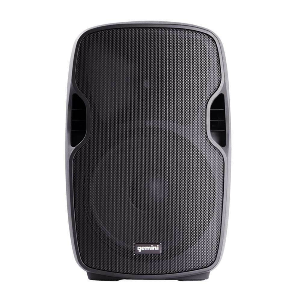 gemini as 15blu portable 15 inch active powered bluetooth pa loudspeaker speaker 193802042818 ebay. Black Bedroom Furniture Sets. Home Design Ideas