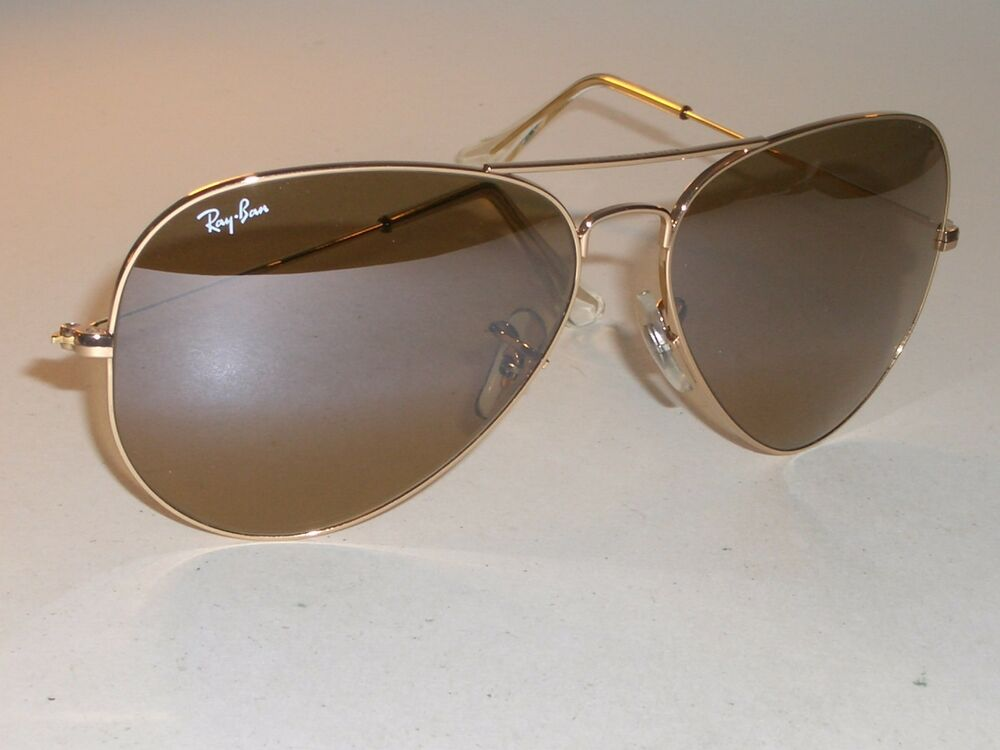 52f3e38a94 Details about 62  14M B L RAY BAN GREY GRADIENT BROWNISH YELLOW FLASH GOLD  AVIATOR SUNGLASSES