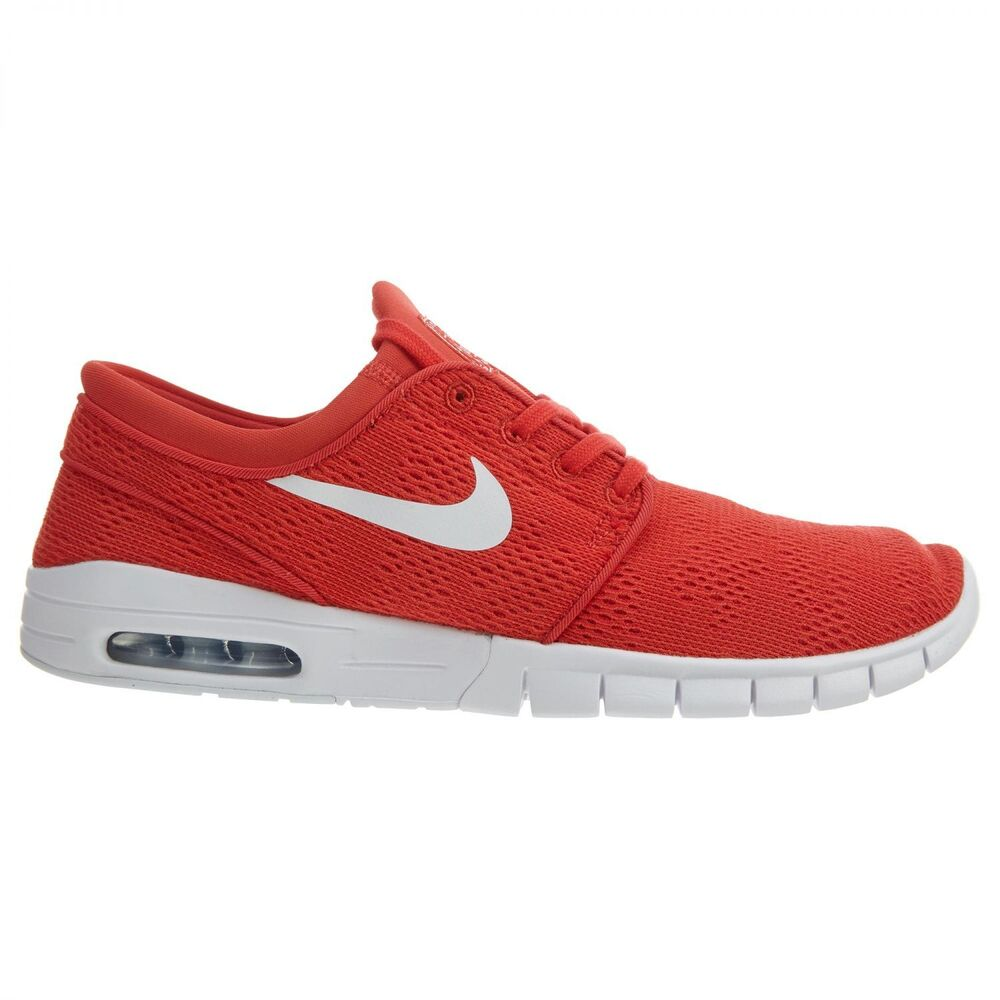 super popular e43a0 32dd5 Details about Nike SB Stefan Janoski Max Mens 631303-611 Track Red Skateboard  Shoes Size 5.5