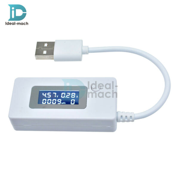 LCD USB Charger Doctor Tester Power Capacity Voltage Current Meter Detector
