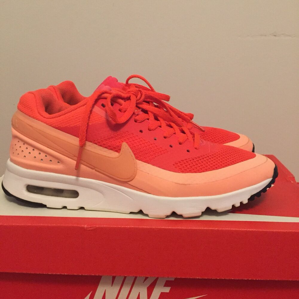 the best attitude 07368 7327f Details about Womens Nike Air Max BW Trainers. UK size 5. Neon Orange Peach.