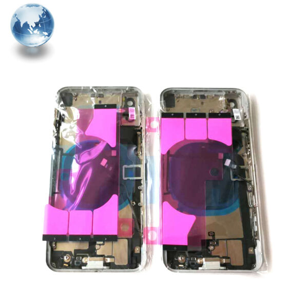 IPhone 8, 8 Plus ,X Replacement Back Glass Housing Battery Cover Frame Assembly