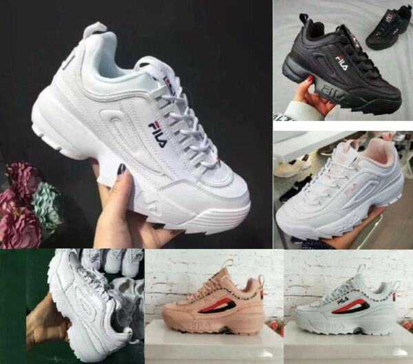 FILA Femmes Baskets Sport Fitness Gym Baskets Chaussures de course occasionnel *