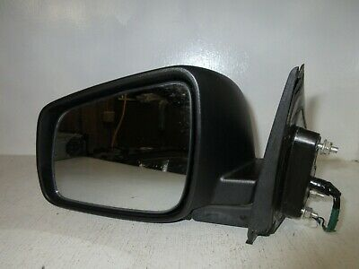 2008-2014 Mitsubishi Lancer LH Driver Side Power Heated Mirror OEM 7632A093
