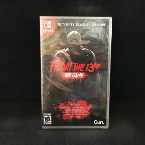 Friday the 13th Game Ultimate Slasher Edition (Nintendo Switch) BRAND NEW