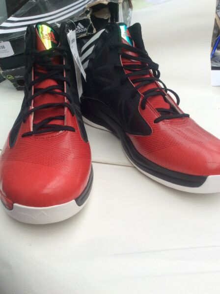 ADIDAS CRAZY FAST BASKETBALL BOOTS SIZE UK 18 New