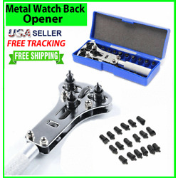 Kyпить Watch Band Back Case OPENER Fixer Repair Tool Kit Battery Screw Cover Remover  на еВаy.соm