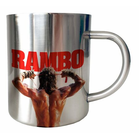 img-Mug Inox chrome RAMBO chrome - Rambo It's War