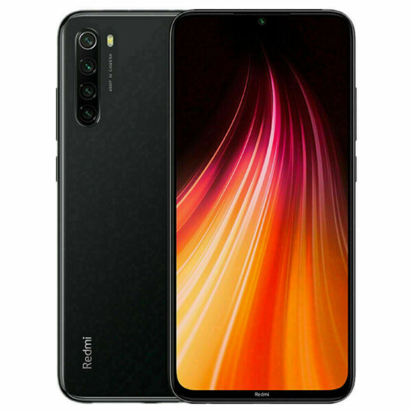 Xiaomi Redmi Note 8 4GB 64GB Nero 6,3