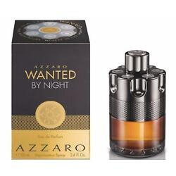 Azzaro Wanted by Night by Azzaro cologne for him EDP 3.3 / 3.4 oz New in Box