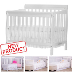 Kyпить 4 in 1 Baby Crib Bed Convertible Nursery Portable Toddler Furniture No Mattress на еВаy.соm