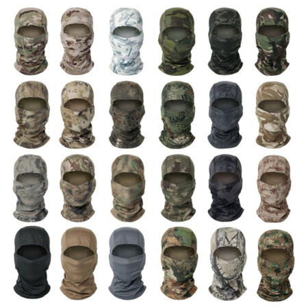 img-Tactical Balaclava Face Mask Head Cover Wrap Scarf Army Military SAS MTP Scarves