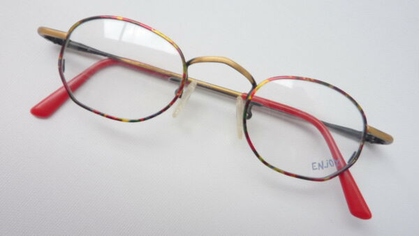 AllemagneEnjoy  Jungenbrille Rouge Noir Braun Marbre Favorable Neuf TAILLE S