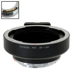 Fotodiox Pro Focus Confirmation Adapter Hasselblad V Lens to Canon EOS EF/EF-S