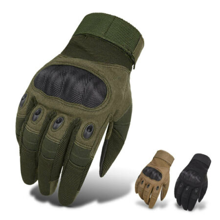 img-Tactical Carbon Fiber Gloves Army Military Commando Special Ops Combat Duty Gear