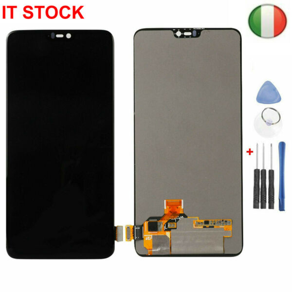 Per Oneplus 6/One Plus 6 OLED LCD Display + Touch Screen Digitizer Schermo Tools