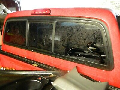 2001-2004 Toyota Tacoma, Back Glass, Sliding