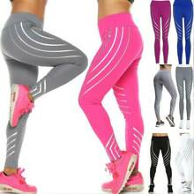 Damen Leggings Leggins Push Up Sporthose Laufhose Fitness Gym Yoga Trainingshose