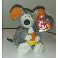 Ty Beanie Baby - RATZO the Rat with Candy Corn (6 Inch)(Internet Exclusive) MWMT