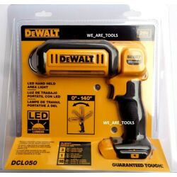 Kyпить NEW IN PACKAGE Dewalt DCL050 LED 20V Light Pivoting Flashlight Work Area Light на еВаy.соm