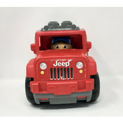 Kyпить RARE 4x4 MEGA BLOKS JEEP LIL' OFF ROADER RED JEEP WRANGLER BLOKS SET TOY TRUCK на еВаy.соm