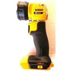 Kyпить New Dewalt DCL040 LED 20V Light Pivoting Flashlight Work Light Tool Only Jobsite на еВаy.соm
