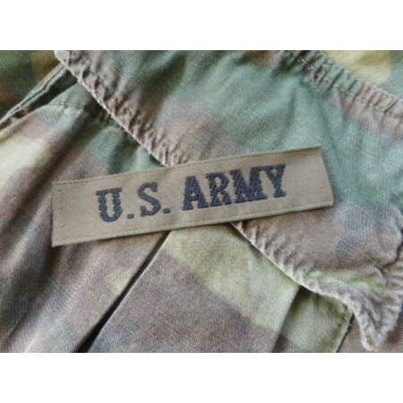img-small size US ARMY branch tape PATCH BADGE INSIGNIA og green NEW 1980'S REPO