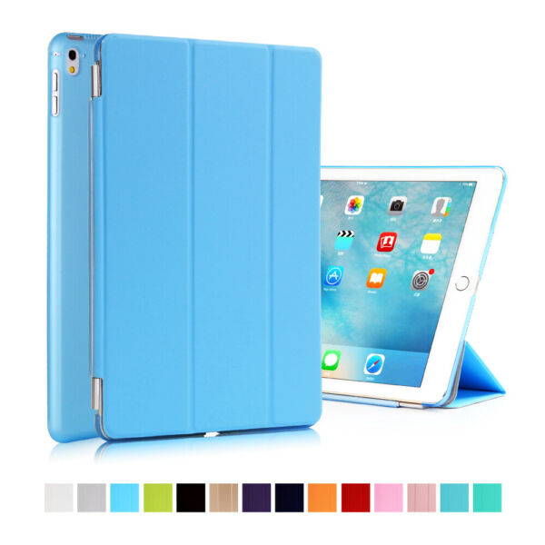 Leather Magnetic Stand Smart Case Cover Apple iPad 10.2 AIR MINI PRO 17/18 9.7