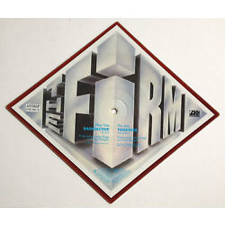 THE FIRM ~ RADIO ACTIVE / TOGETHER ~ RARE SHAPED PICTURE DISC ~ ATLANTIC 1985