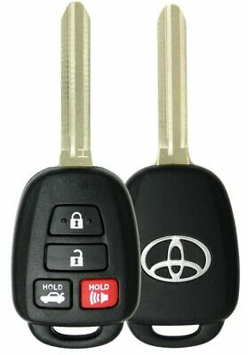 OEM REPLACEMENT KEYLESS REMOTE HEAD FOB FITS 14-19 TOYOTA CAMRY COROLLA HYQ12BDM