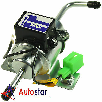 New Universal 12V Low Pressure Gas Diesel Electric Fuel Pump 1/4 Tubing 3-5 PSI