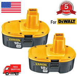 Kyпить 2 New 18V 18 Volt for Dewalt XRP Battery DC9096-2 DC9098 DC9099 DW9096 DC9096 US на еВаy.соm