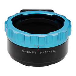 Fotodiox PRO Lens Adapter B4 (2/3'') ENG Cine Lens to Sony E-Mount Camera