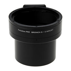 Fotodiox PRO Lens Adapter Bronica S Lens to Sony E-Mount Camera