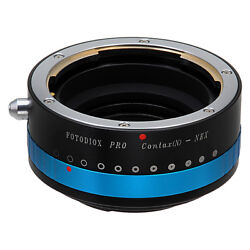 Fotodiox PRO Lens Adapter Contax N Lens to Sony E-Mount Camera