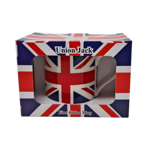 Royaume-Uni2 X Emballé Licence Official  Union Jack Flag Blanc Rouge Bleu Tasse