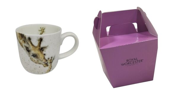 Royaume-UniLicence Official Emballé Wrendale Girafe  Tasse