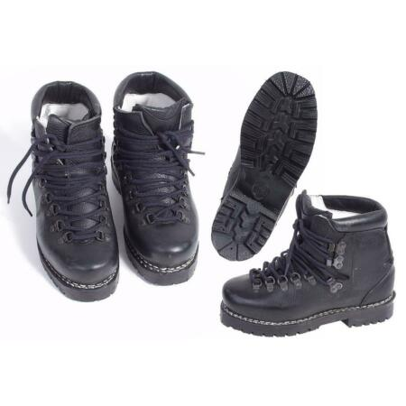 img-Gr.50/325 Bw Alpine Boot Strong Original Black Hiking Running Leather Boots