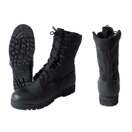 img-Gr.45 US Army Hot Weather Lace-Up Leather Boots Utility Boots Armyschuh